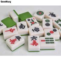 Hohe Qualität Reisen Mahjong set Mahjong Spiele Home Spiele Chinesische Lustige Familie Tabelle Brettspiel Melamin mahjong