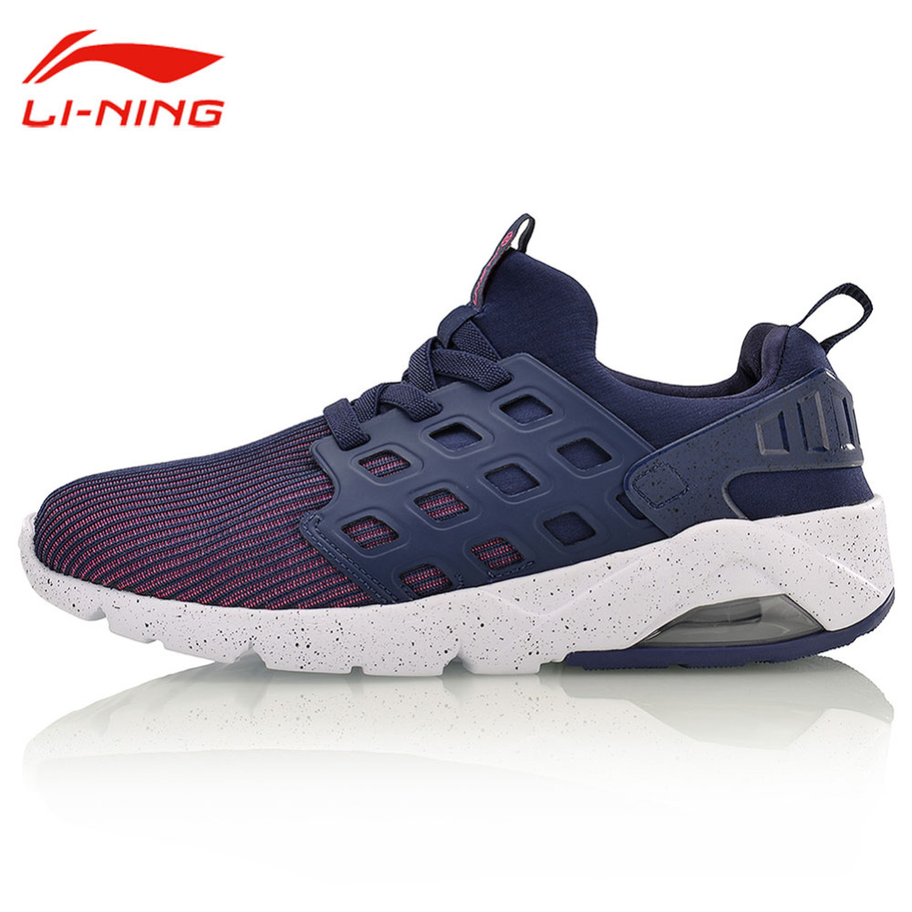 Li-Ning Women's Bubble Ace Outdoor Walking Shoes LiNing Breathable Streetwear Shoes Flats Sneakers Li Ning Sports Shoes AGLM022 original li ning men professional basketball shoes