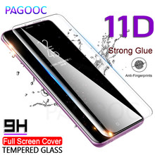 11D Curved Tempered Glass On The for Samsung Galaxy Note 8 9 S7 Edge S8 S9 Plus