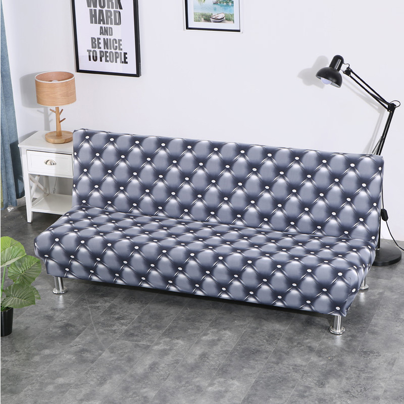 Sofa Cover for Folding Sofa with Tight Wrap to Protect Sofa from Scratch Made with Polyester and Spandex 3