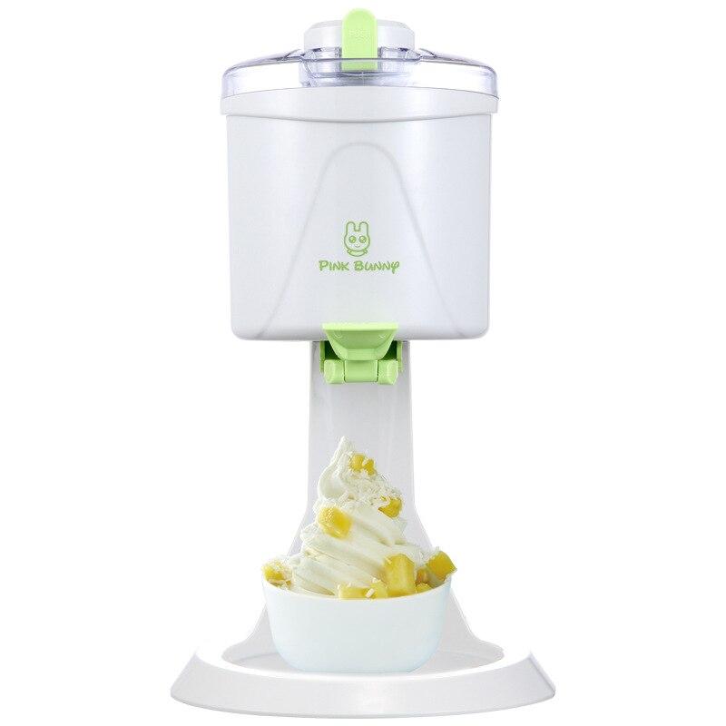1L Grande Capacité Automatique Électrique Mini Machine À Crème Glacée Crème Glacée de DIY Enfants Maison Maker 10 Minutes Rapide Faire outil