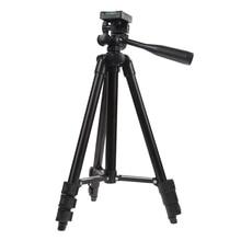 Профессиональный Гибкий штатив Портативный Алюминий телеметрией головкой для крепления видеокамеры цифрового видео statief путешествия штатив для Камера