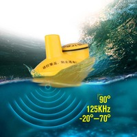 New Professional FFW1108 1 Wireless Fish Finder Portable Sonar Fishfinder 40m Depth Range Ocean Lake Sea