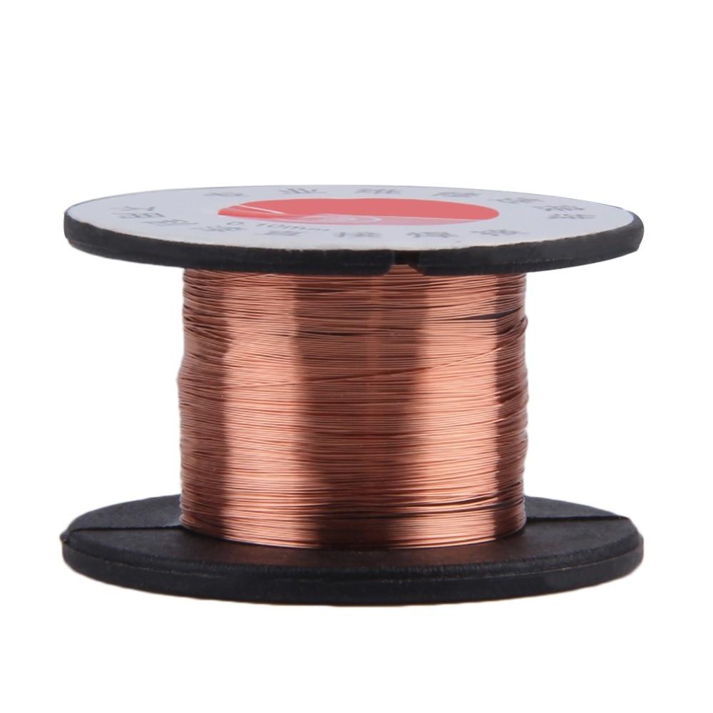 New 0.1MM Copper Soldering Solder PPA Enamelled Repair Reel Wire Fly Line 2017