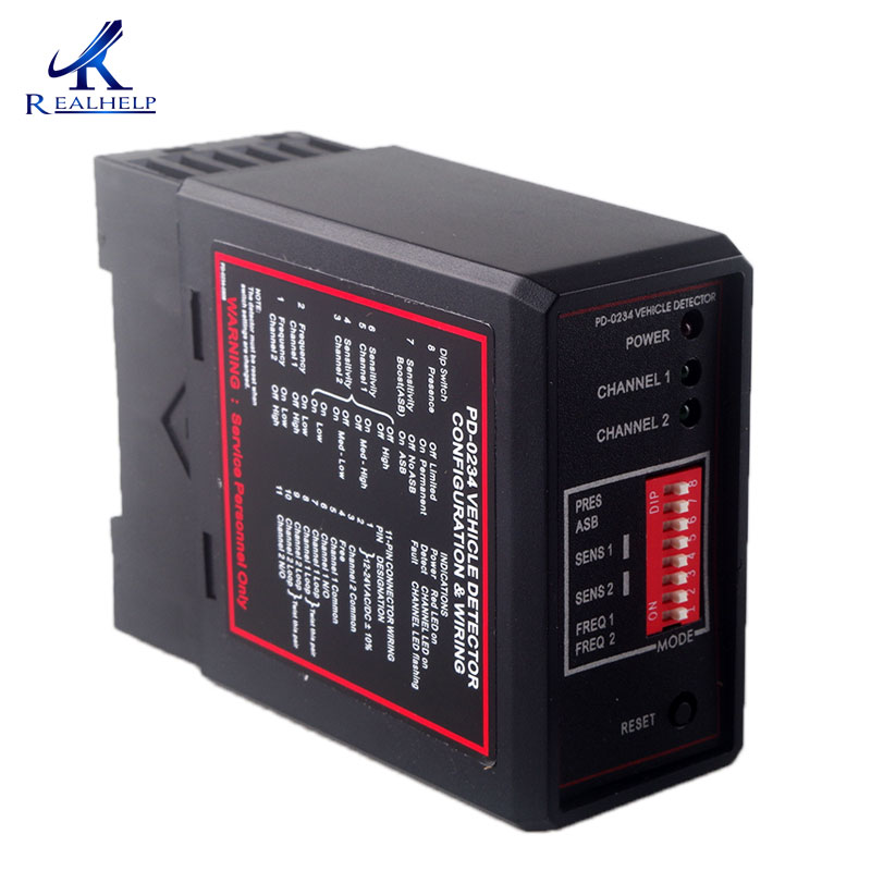 Double channel inductive vehicle loop detector Dual Channel High Sensitivity for the car parking Traffic Inductive 12-24V double channel inductive vehicle loop detector dual channel high sensitivity for the car parking traffic inductive 12 24v