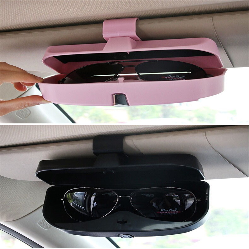 2018 New Car Sun Visor Glasses Box For Nissan Teana X-Trail Qashqai Livina Sylphy Tiida Sunny March Murano Geniss,Juke