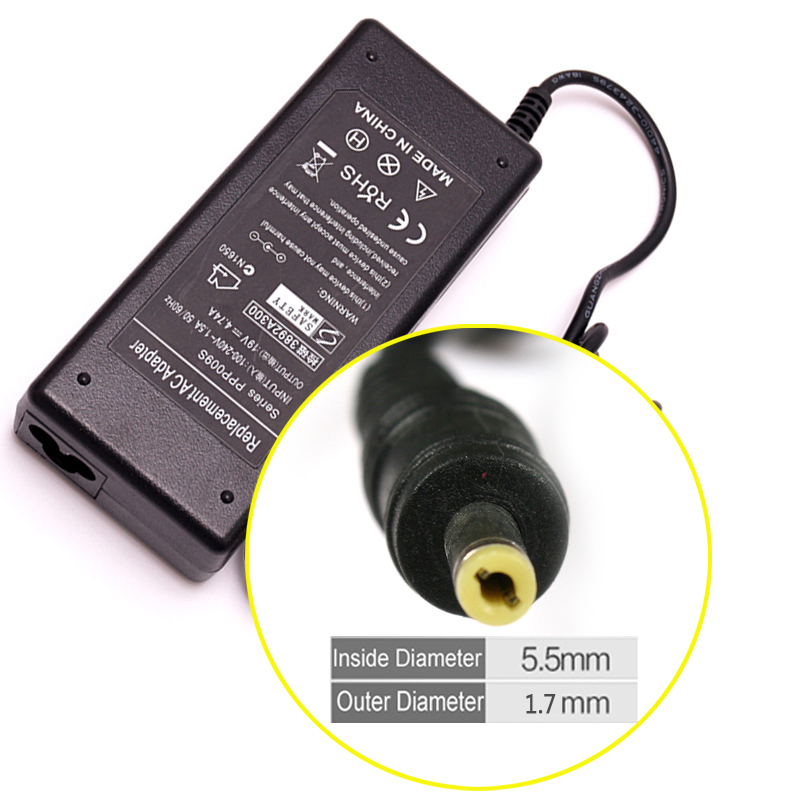 19 V 4.74A 90 W AC Laptop Adapter Oplader Voor Acer Aspire 4710G 4720G 4730 492 PA-1650-02 4720 4741G E642G PA-1900-34 PEW86