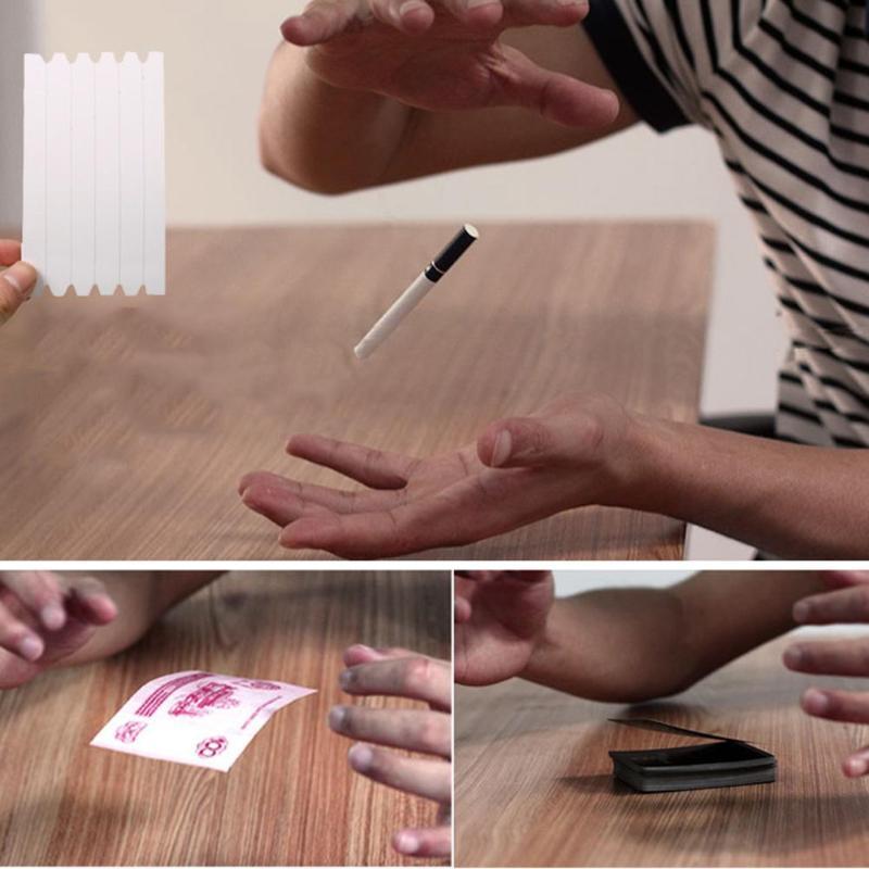 Kids Elastic Invisible Coil Metal Floating Hidden Thread Loops Magic Trick Props Children Funny Float Magical Performing Props