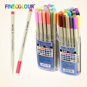 Finecolour Colorful Micro Line Posca Sharpie Paint Marker Pen Drawing Pigment
