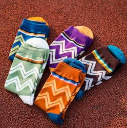autumn winter fashion colorful cotton warm men baseball breathable absorbent happy socks wave stripes classic.jpg 250x250