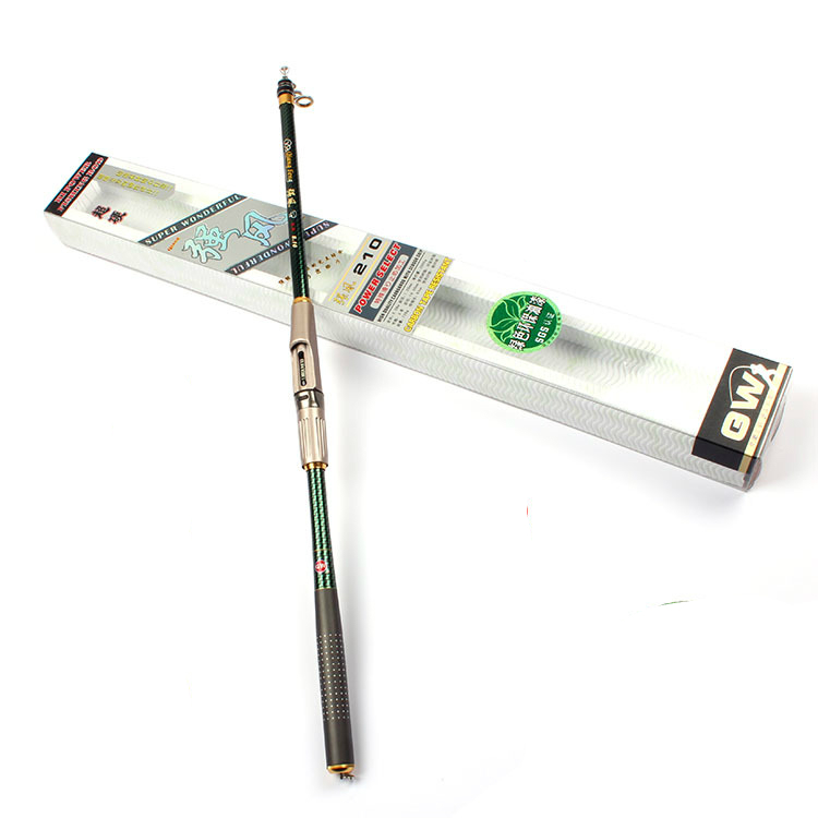 Popular durable 5/6/7/8 section carbon super hard long fishing pole 1.8/2.1/2.4/2.7/3.0/3.6 m shrinlk length 61cm sea/telescopic 4 section telescopic mountaineering pole stick with 9 led lights compass 4 x ag13 110cm length