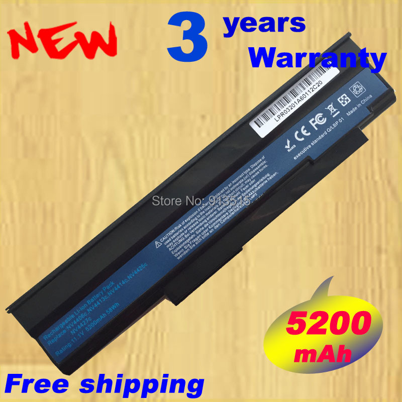 Battery for Acer Extensa 5635Z 5635 5635G 5635ZG eMachines E528 E728 AS09C31 аккумулятор 4parts lpb 5635zg для acer extensa 5235 5635z 5635zg lx ee50x 050 emachines e528 series 11 1v 4400mah аналог pn as09