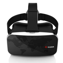 Harbor 3D VR Glasses Virtual Reality VR Head Mounted Headset For 4.0-6.0 inches IPhone Samsung Smartphone with Adjustable Lens