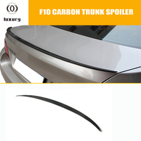 F10 M5 Carbon Fiber Heckflügel Spoiler für BMW F10 5 Serie 520i 528i 535i 520d 525d 535d F10 M5 2010 2016 M5 Stil-in Spoiler & Flügel aus Kraftfahrzeuge und Motorräder bei