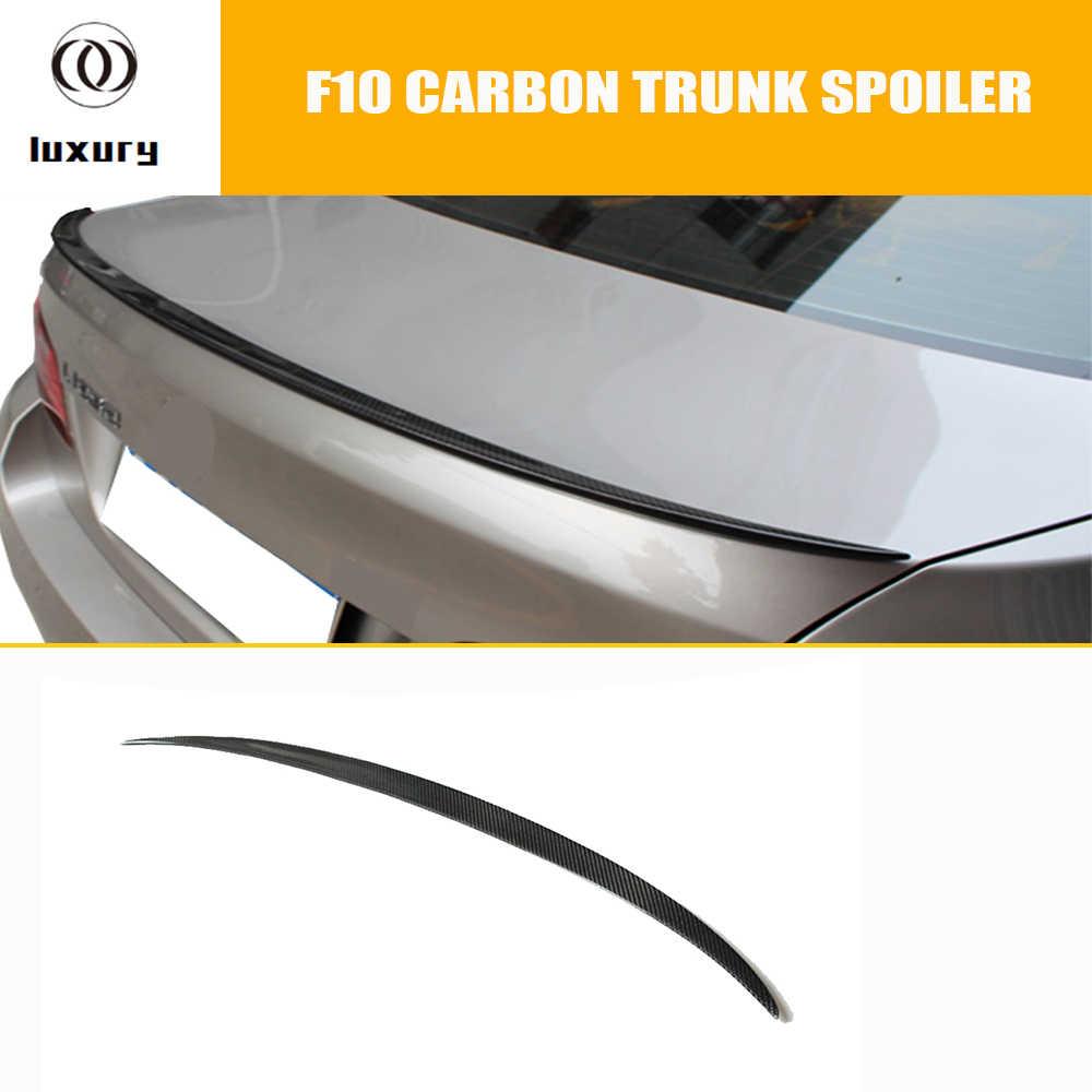 F10 M5 Carbon Fiber Rear Wing Spoiler Voor Bmw F10 5 Serie 520i 528i 535i 520d 525d 535d F10 M5 2010-2016 M5 Stijl