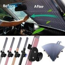 70 см, солнцезащитный козырек для внедорожника, грузовика, переднего лобового стекла, солнцезащитный козырек на заднее стекло, защита от ультрафиолета, шторный блок
