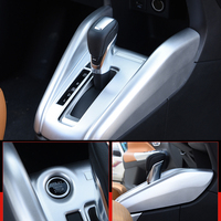 LHD For Nissan Kicks 2016 2017 2018 ABS Chrome Interior Gear Shift Position Panel Cover Trim