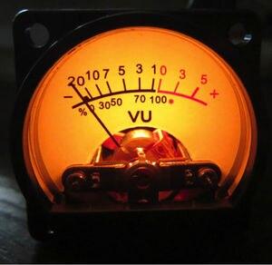 Image 3 - 2 uds. Medidor de VU con Panel luz trasera cálida, indicador de nivel de Audio para amplificador de altavoces