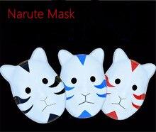 Anime Narute Uchiha Madara Cat Full Face Plastic Mask Cosplay Cos Mens Free Shipping