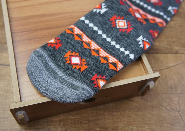 5 paari 2016 uus brändi meeste sokk põlve kõrge paks / termiline - Spordiriided ja aksessuaarid - Foto 5