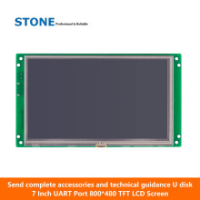 TFT touch panel 5.6 inch with controller board & driver & RS232 RS485 TTL port цена