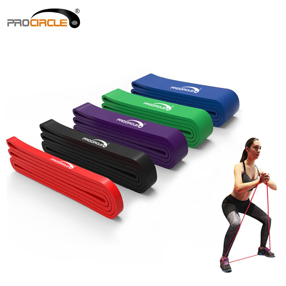 ProCircle 5 Levels Resistance Bands Pull Up Band Heavy Duty Assist Bands For Assistance Exercise/ Mobility/Stretch/Power Lifting