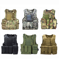 High Quality Tactical Vests Military Equipment Paintball Army Airsoft Vest Combat Molle Vest Men Outdoor Camouflage