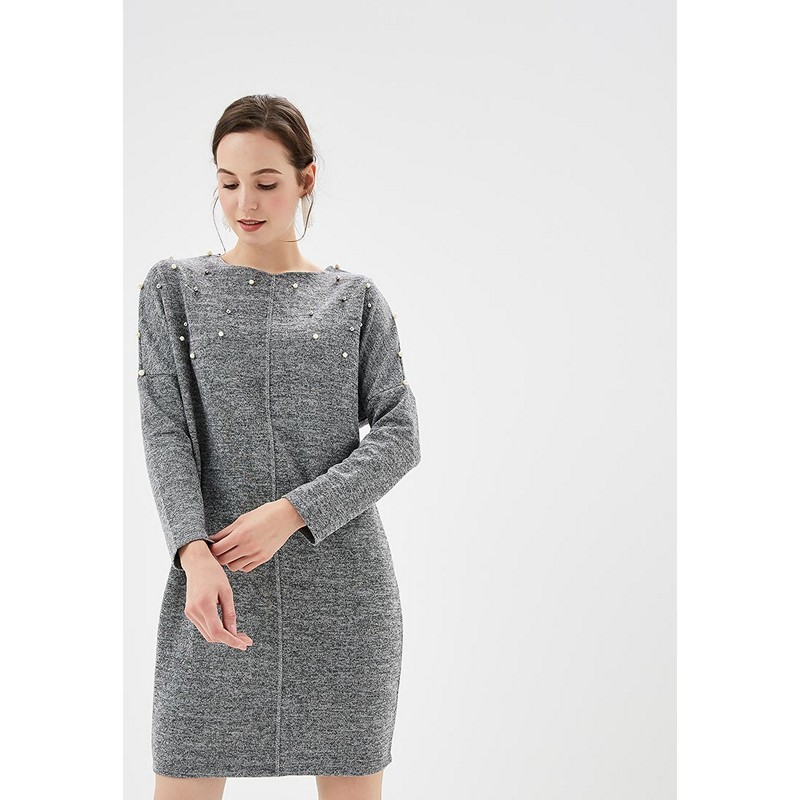 Dresses MODIS M182W00241 dress cotton clothes apparel casual for female for woman TmallFS dresses befree 1731067548 woman dress cotton long sleeve women clothes apparel casual spring for female tmallfs
