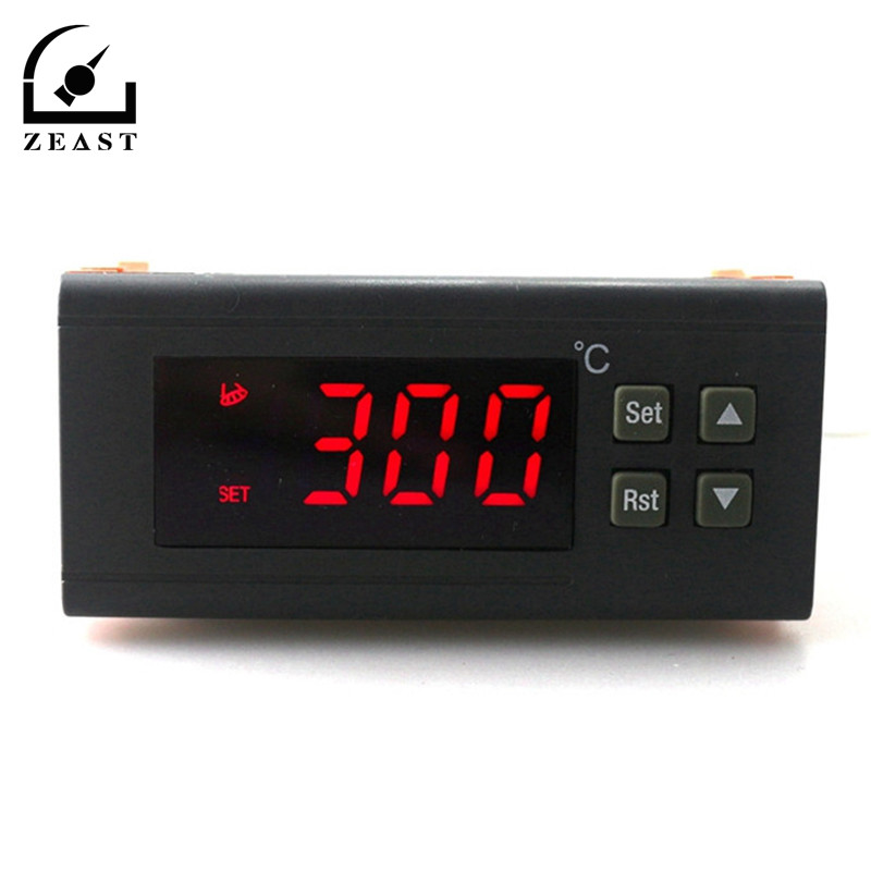 C-114M 220V/10A -30~300 Degree Digital Temperature Controller Thermostat Regulator With Temperature Sensor Output