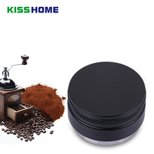 Matte Professional Espresso Wbc Stainless Steel Coffee Tamper Ripple Slope Aluminum Alloy 58/58.35mm Adjustable Macaron Tampers