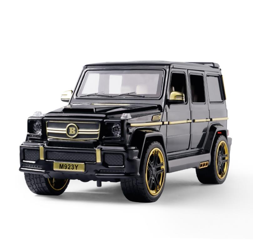 1/24 Diecasts & Toy Vehicles Big G Brabus G65 Car Model Sound&Light Collection Car Toys For Boy Children Gift Brinquedos
