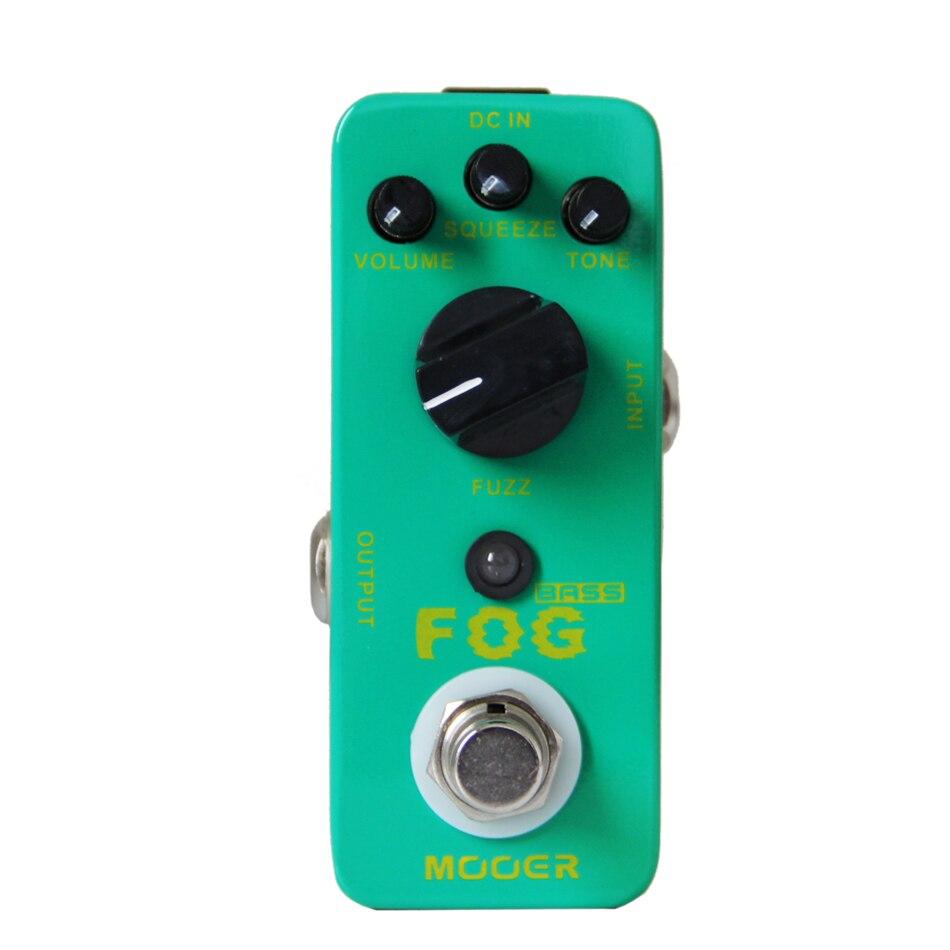 NEW Guitar Effect Pedal MOOER Fog Bass Fuzz Pedal/Full metal shell True bypass mooer blue faze fuzz pedal electric guitar effect pedal true bypass mfz1
