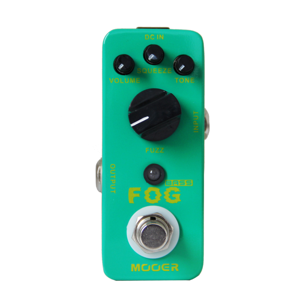 NEW Guitar Effect Pedal MOOER Fog Bass Fuzz Pedal/Full metal shell True bypass image