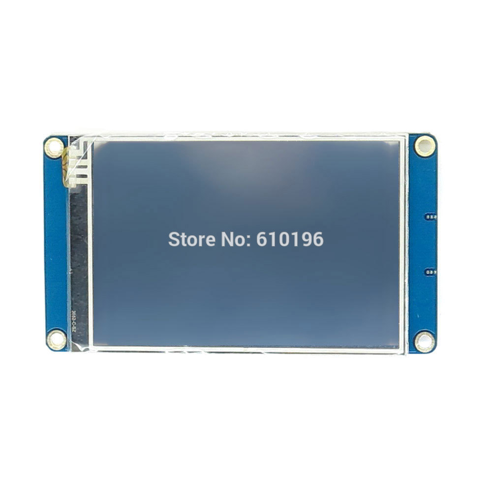 Versión en inglés Nextion 3,5 ''UART HMI inteligente Módulo de pantalla LCD de pantalla para Arduino TFT frambuesa Pi LCD ESP8266