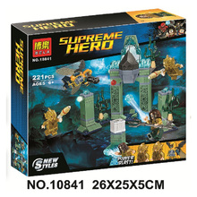 Bela 10841 Dc Comic Super Hero Battle Of Atlantis Marine Relics Building Blocks Toys Compatible With Legoings Batman