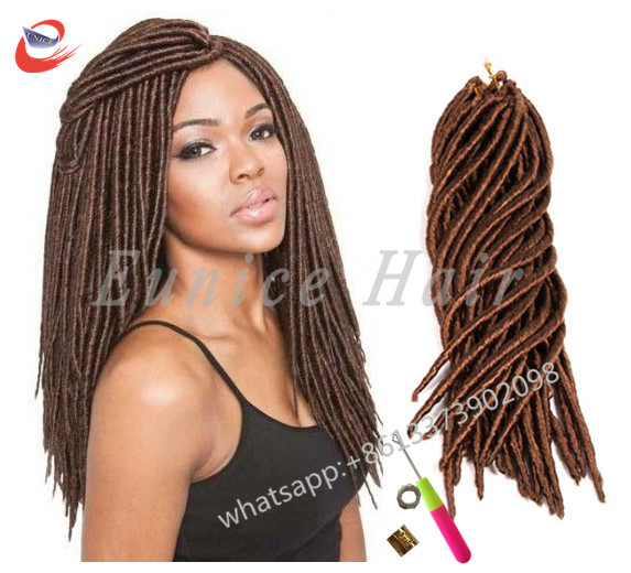 Faux Locs African American Crochet Braiding Hair Extensions