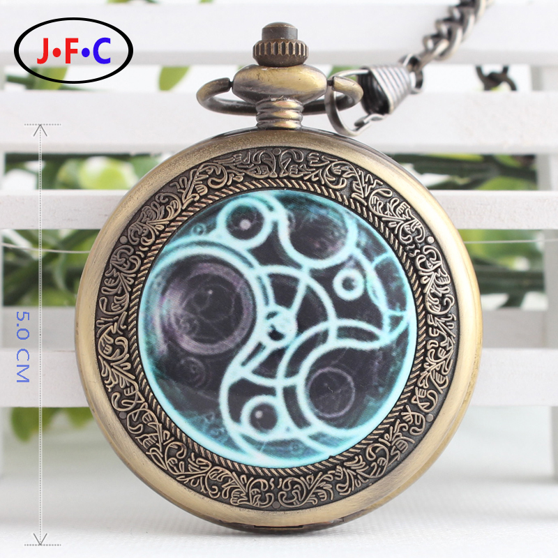 European and American abstract paintings cover mechanical watch with chain and watch the Art Department of hollow patch B103 european and american movies aladdin and the magic lamp quartz pocket watch do the old flip quartz watch chain table ds274