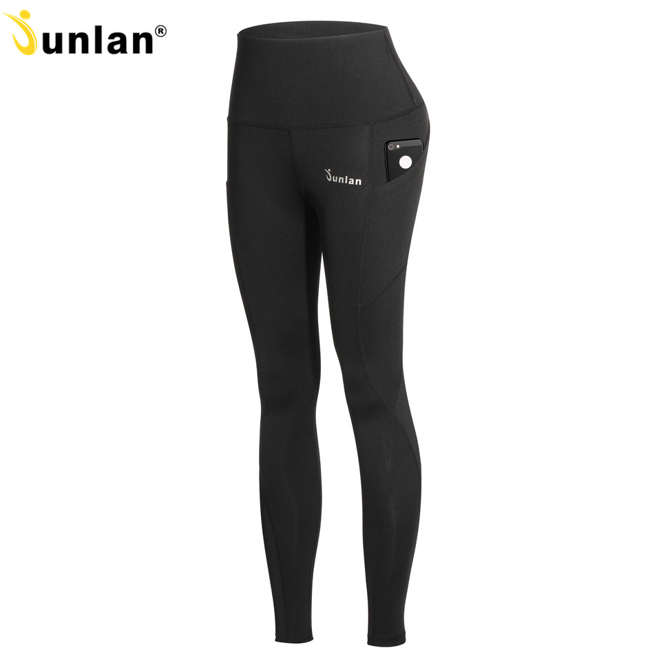 a61843a42fe Junlan Women Control Pants Long Bottom Shapewear High Waist Workout  Trousers Fitness Leg Shapers Elastic Girl s Reducing Pants-in Control  Panties from ...