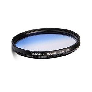 Image 4 - BAODELI Grijs Oranje Blauw Rood Nd Gradiënt Filter Concept 49 52 55 58 62 67 72 77 82 Mm Voor canon 77d Nikon Sony A6000 Accessoires