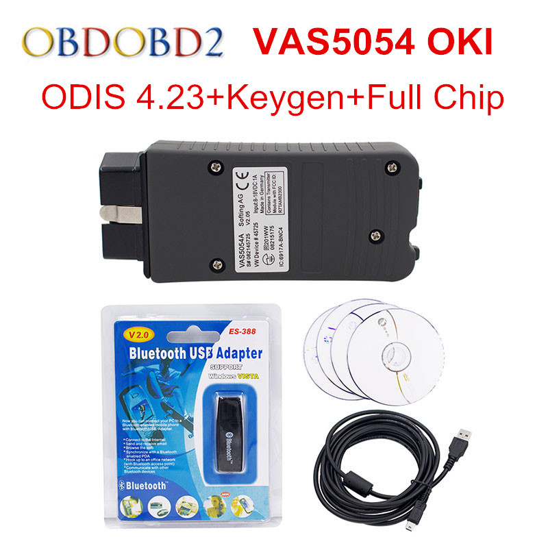 VAG Series VAS 5054A Fulll Chip ODIS V4.23 Multi-Language VAS5054A Support UDS Protocol Bluetooth VAS 5054 For VW/Audi подставка для зубочисток vob vob034111101
