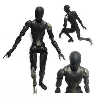 28cm 2 Versions Heavy Industries Synthetic Human 1/6 and 1/12 Scale Action Figure Collectible Model Toy Gift Dropshipping
