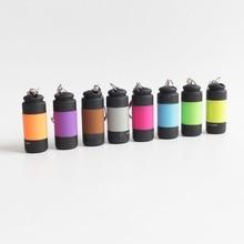Mini USB Power Rechargeable Portable LED Keychain Torch  Light usb charging mini led flashlight
