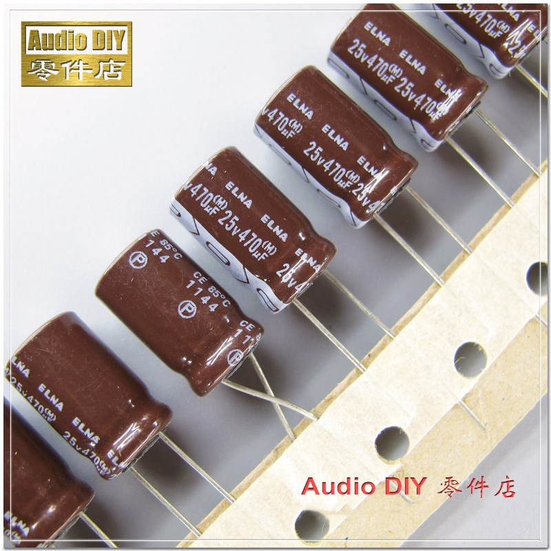 10PCS/50PCS ELNA RA2 Series 470uF 25V 25V470uF Audio Electrolytic Capacitor