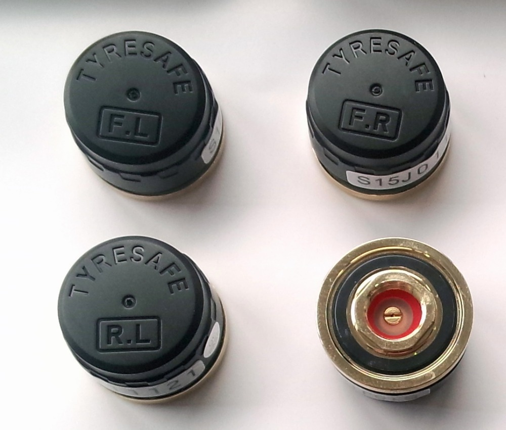 2019 neueste tyresafe TP200 LCD Wireless Tire Pressure Monitor System TPMS mit zigarette ladegerät Externe Sensor