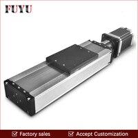 Пылезащитный мм 10 мм винт привести мм 500 ход линейного движения направляющий шариковый винт Rail ЧПУ Линейный этап привод слайд положение дет