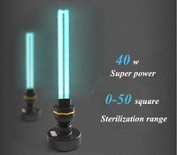 40 Вт высокое содержание озона UV бактерицидные лампы, ультрафиолетовая дезинфекционная лампы, E27 УФ 110 V 220 V 40 W озоновые стерилизации УФ-лампа