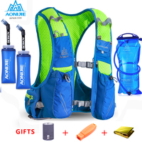 2018 AONIJIE E904S Nylon 10L Outdoor Bags Hiking Backpack Vest Professional Marathon Running Cycling Backpack For