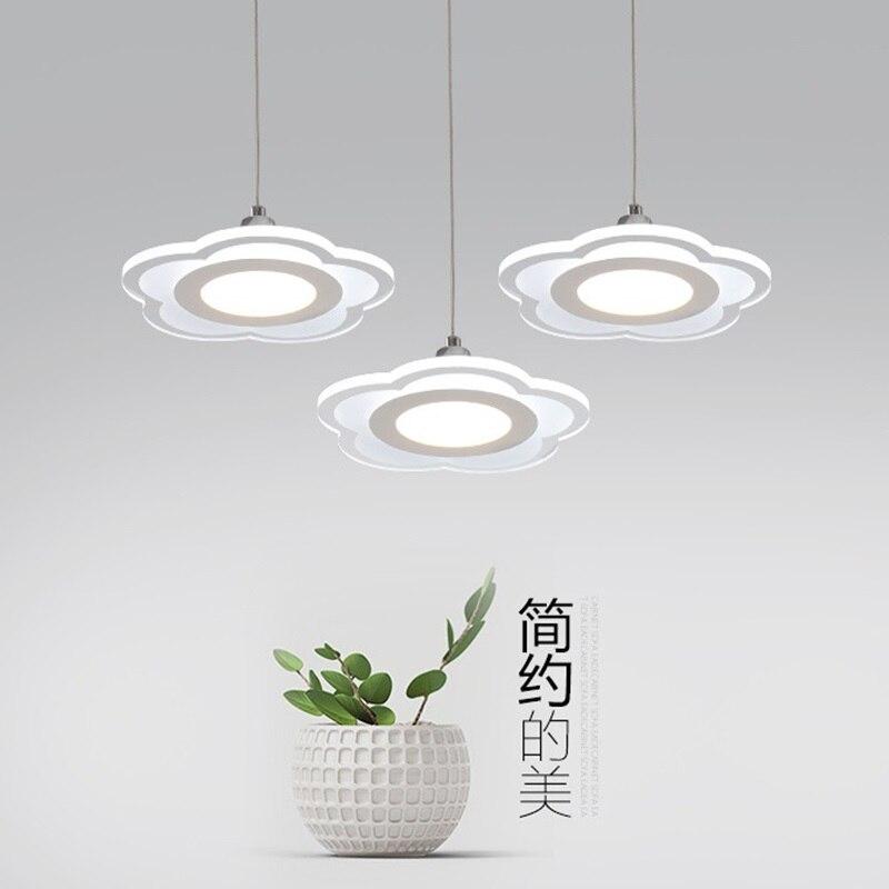 Dining room Restaurant Modern Ultrathin LED Light Chandelier for Bedroom Kitchen Study room Home Hotel Decorative Lamp 2045