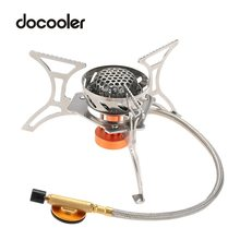 New 2900W Outdoor Picnic Burners Stove Camping Gas Oven Stove Portable Burners Stoves Super Lightweight With Box Hot Sale gh567 gas stove with 4 burners of catering equipment