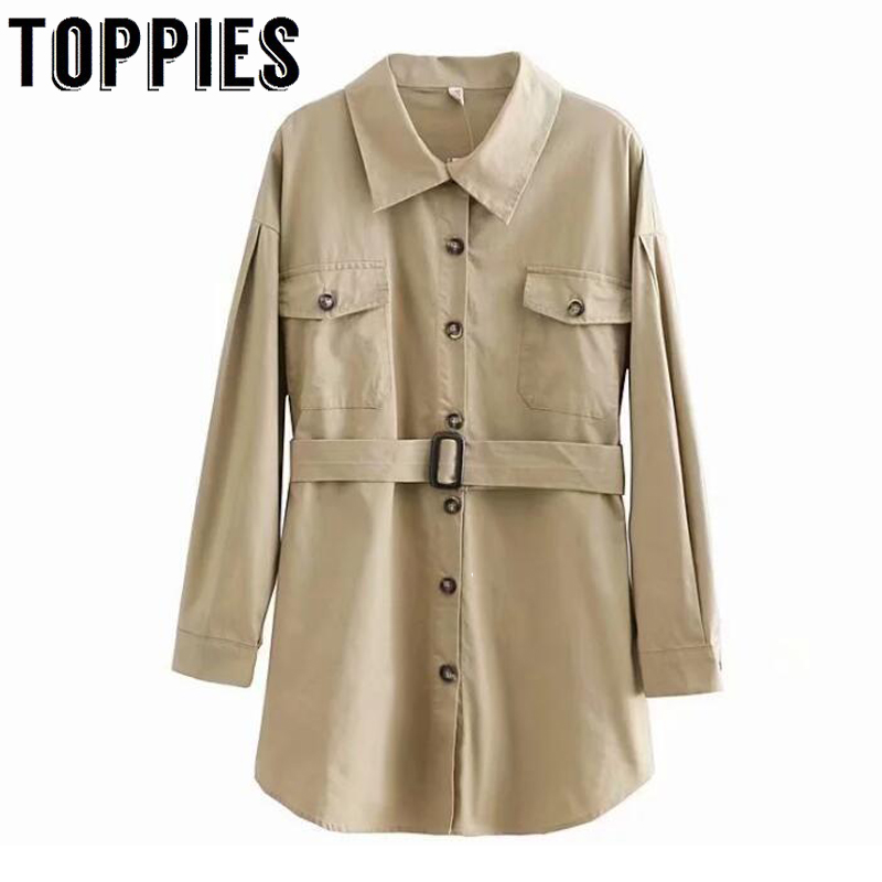 Women Long Shirt 2019 Spring Summer Cotton Shirts Solid Color Boyfriend Style Tops High Street Fashion